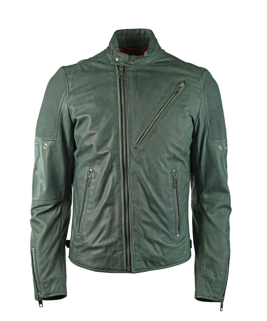Image for Diesel L-Mackson 93R Leather Jacket