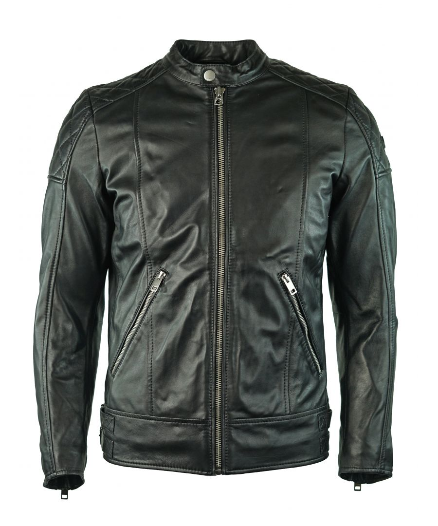 Image for Diesel L-Marton 900 Leather Jacket