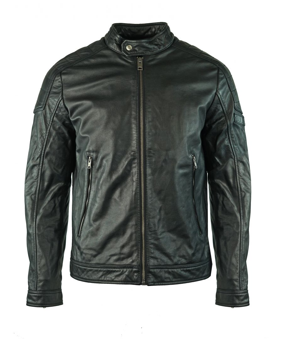 Image for Diesel L-Monike 900 Leather Jacket