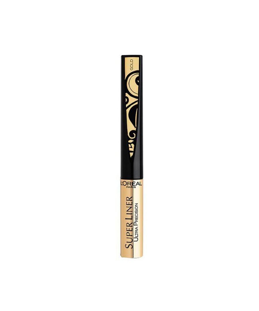 Image for L'Oreal Paris Super Liner Ultra Lasting Precision Tip Eyeliner - Gold