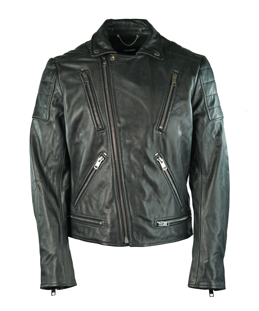 Image for Diesel L-Primus 900 Leather Jacket