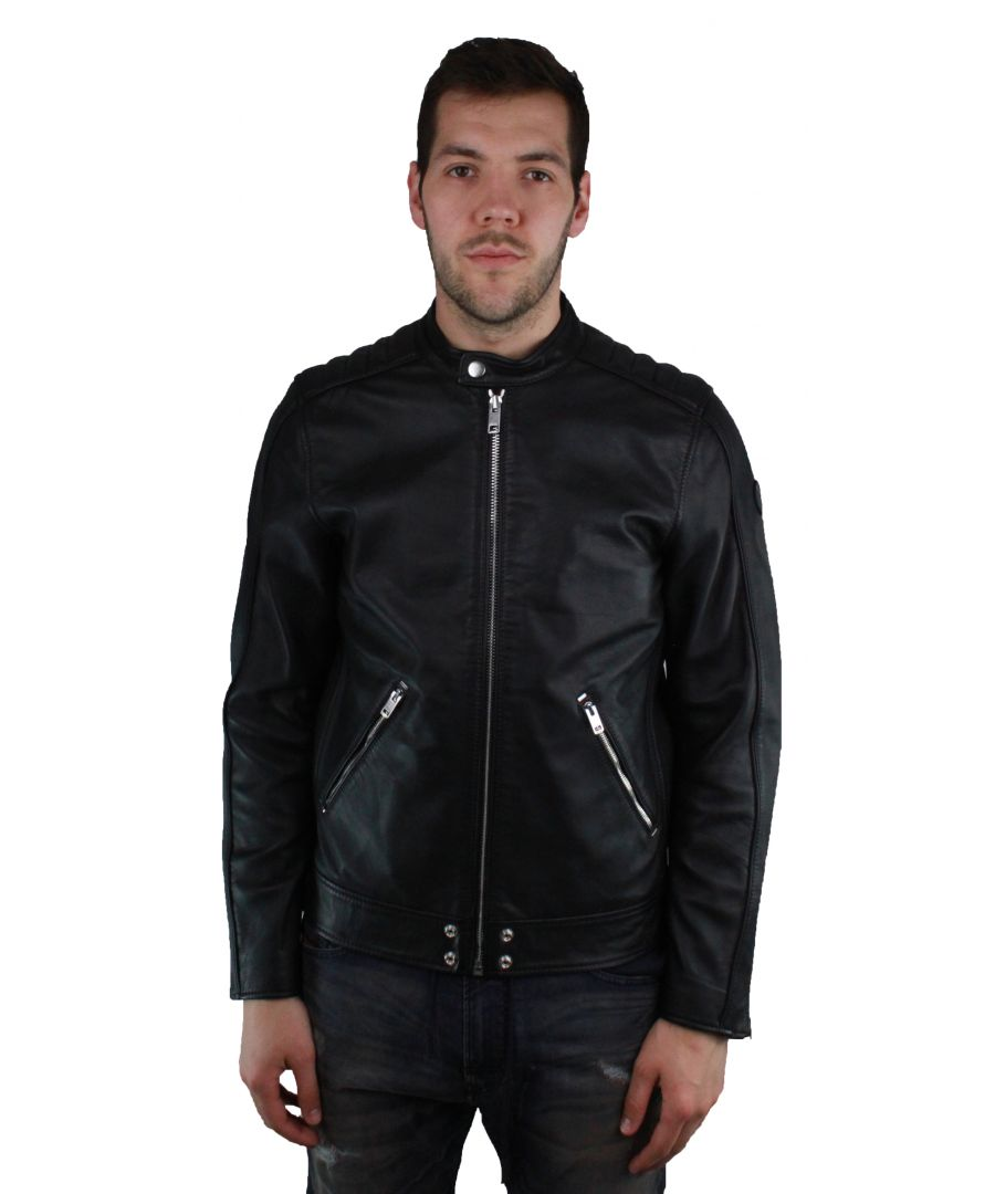 Image for Diesel L-Quad 900 Leather Jacket