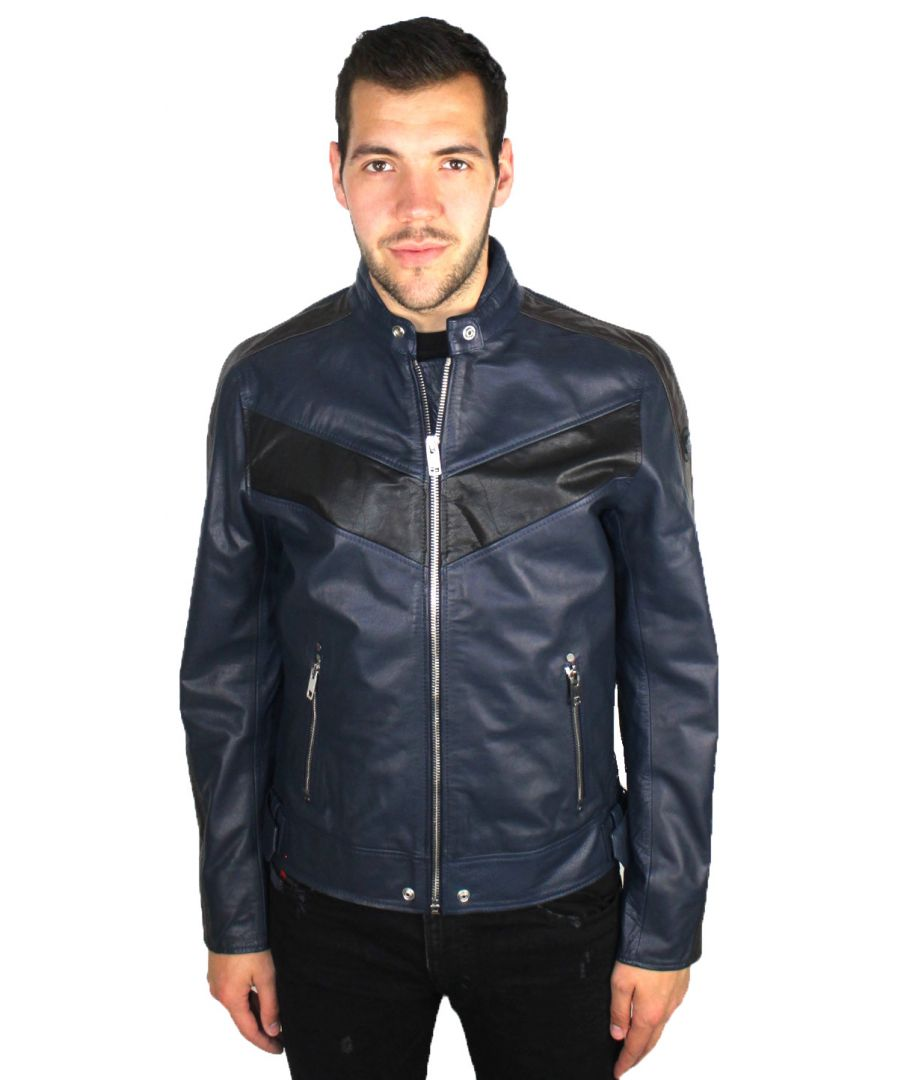 Image for Diesel L-Reed 81EA Leather Jacket