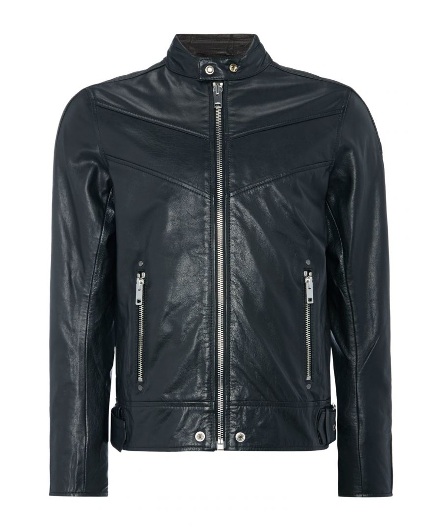 Image for Diesel L-Reed 900 Leather Jacket
