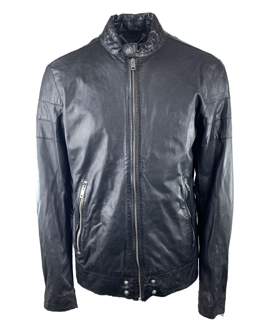Image for Diesel L-Tod 900 Leather Jacket