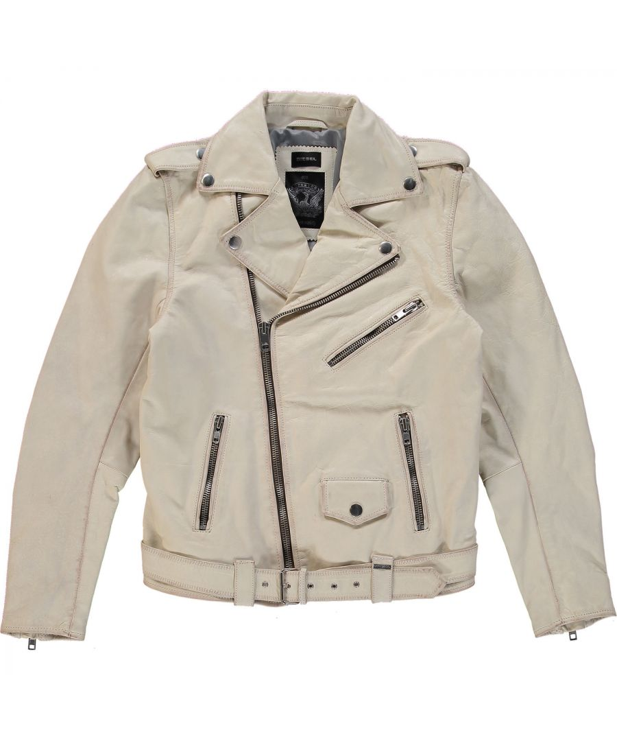 Image for Diesel L-Umenirok 129 Leather Jacket