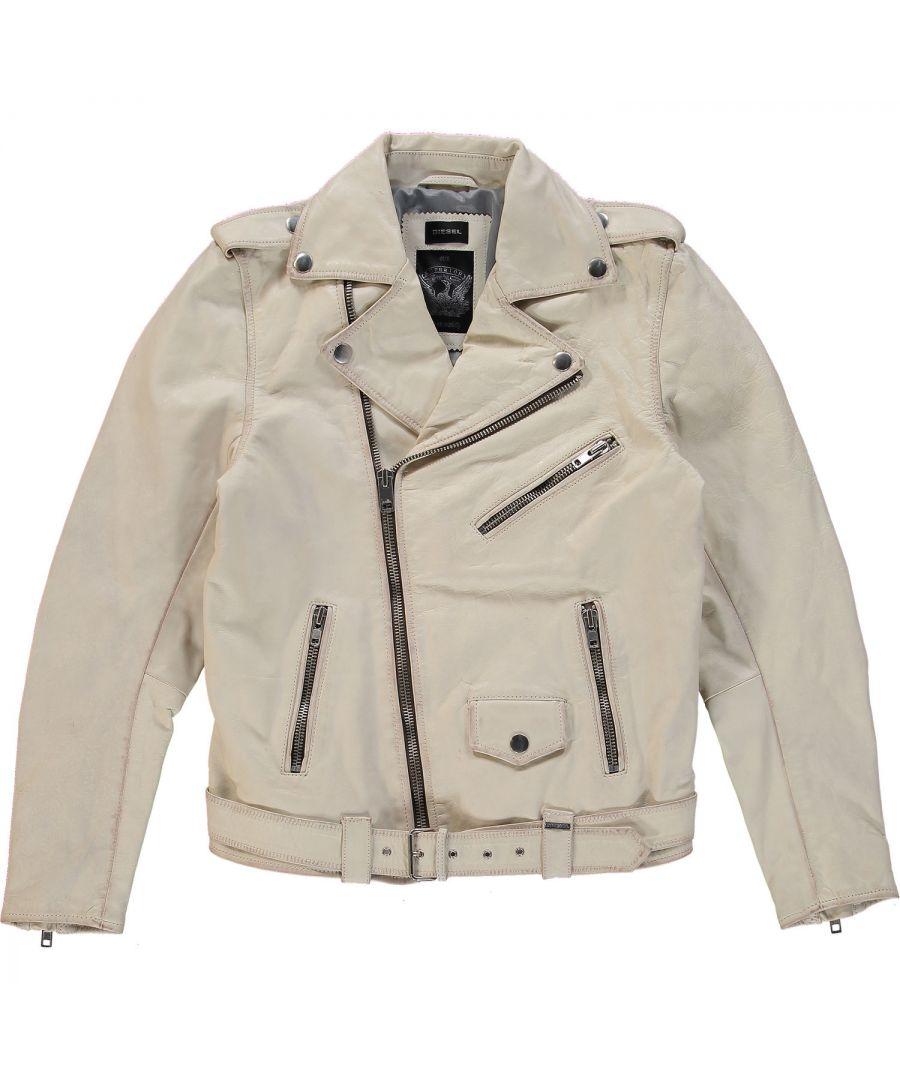 Image for Diesel L-Umenirok 129 Leather Jacket