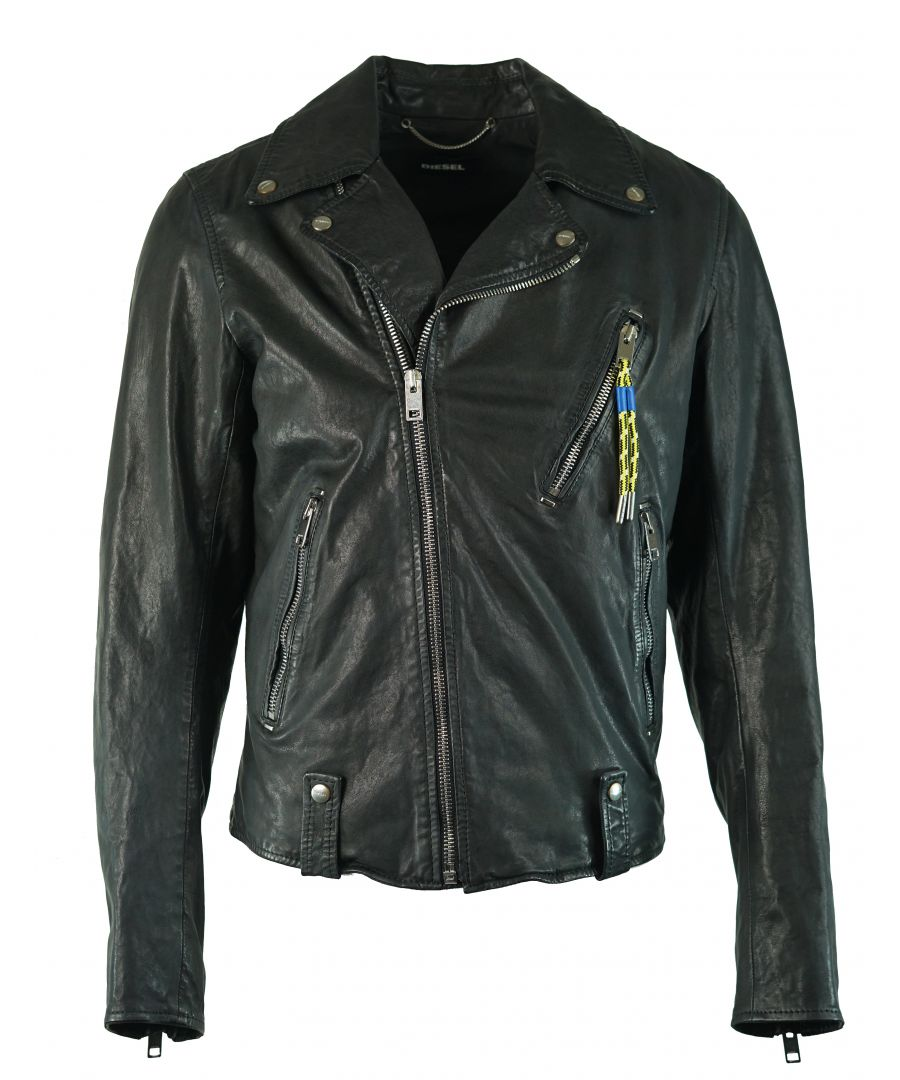 Image for Diesel L-Willcox 900 Leather Jacket