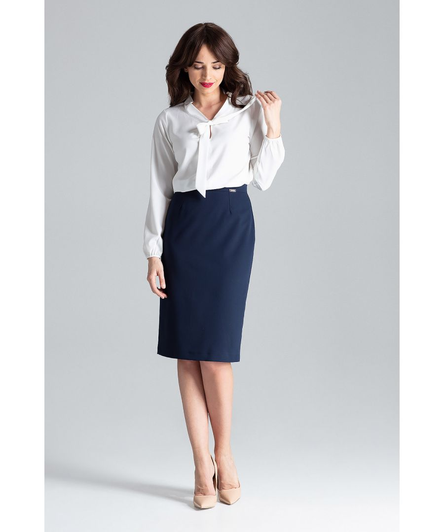 Image for Blouse With a Tied Neckline