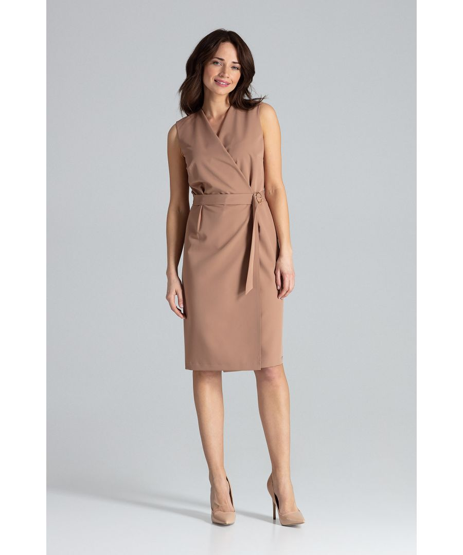 Image for Midi Sleeveless Dress