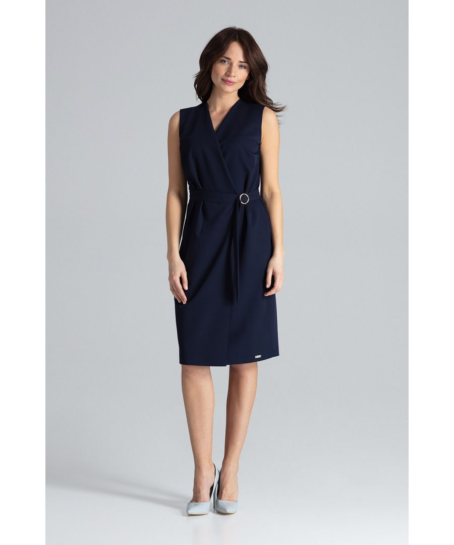 Image for Midi Sleeveless Dress