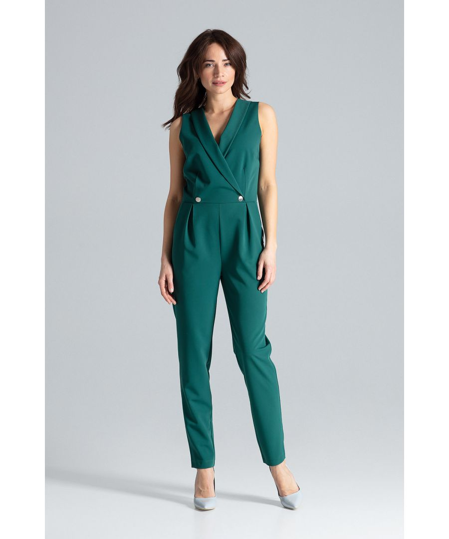 Image for Classic Sleeveless Jumpsuit