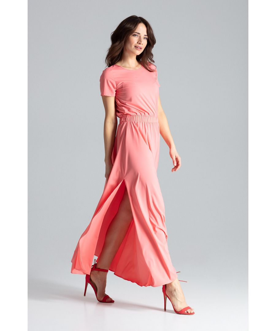 Image for Maxi Dress With Short Sleeves