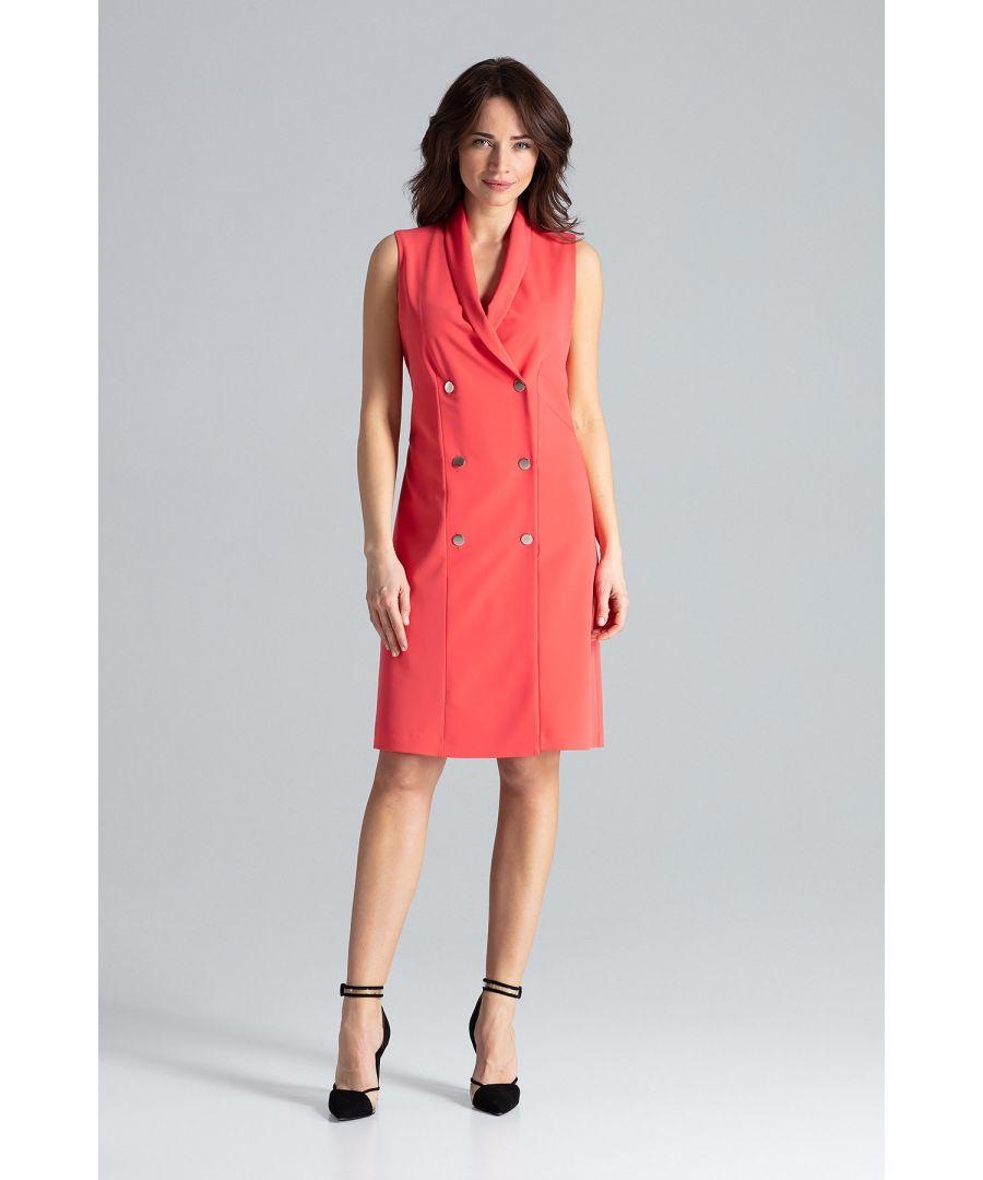 Image for Elegant Sleeveless Midi Dress