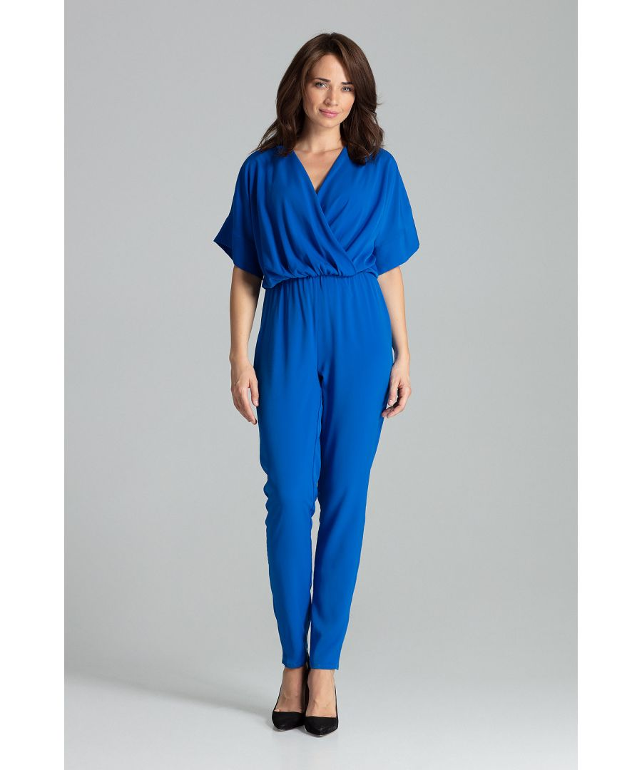 Image for Sapphire Jumpsuit With Long Straight Legs
