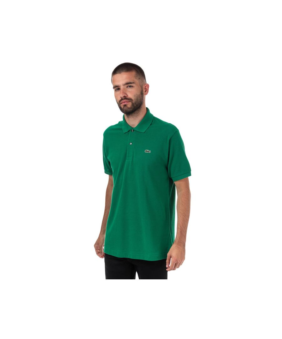 Image for Men's Lacoste Classic Fit L1212 Polo Shirt in Green