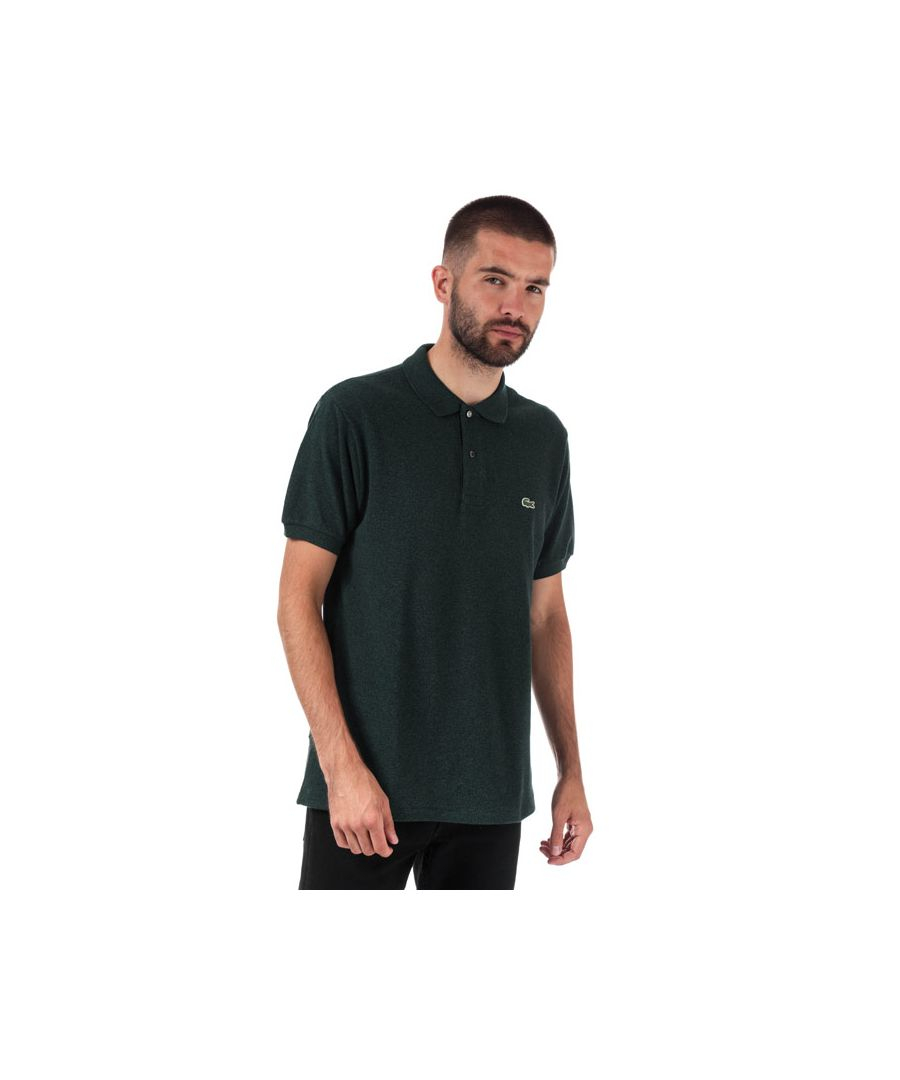 Image for Men's Lacoste Classic Fit L.12.12 Pique Polo Shirt in Green
