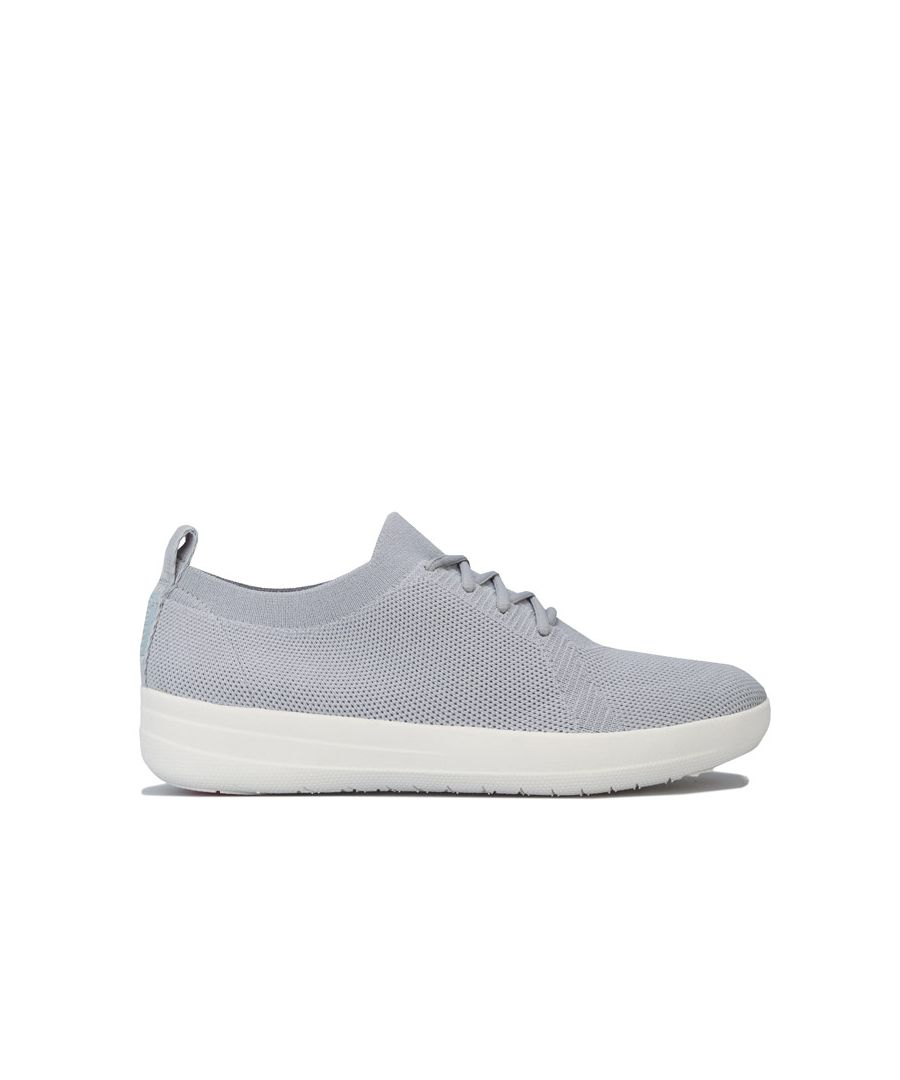 Image for Women's Fit Flop F-Sporty Uberknit Trainers in Stone