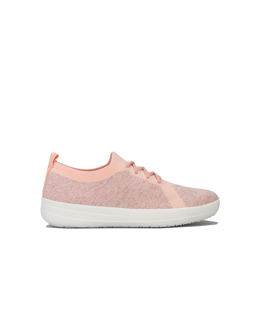 Image for Women's Fit Flop F-Sporty Uberknit Trainers in Pink