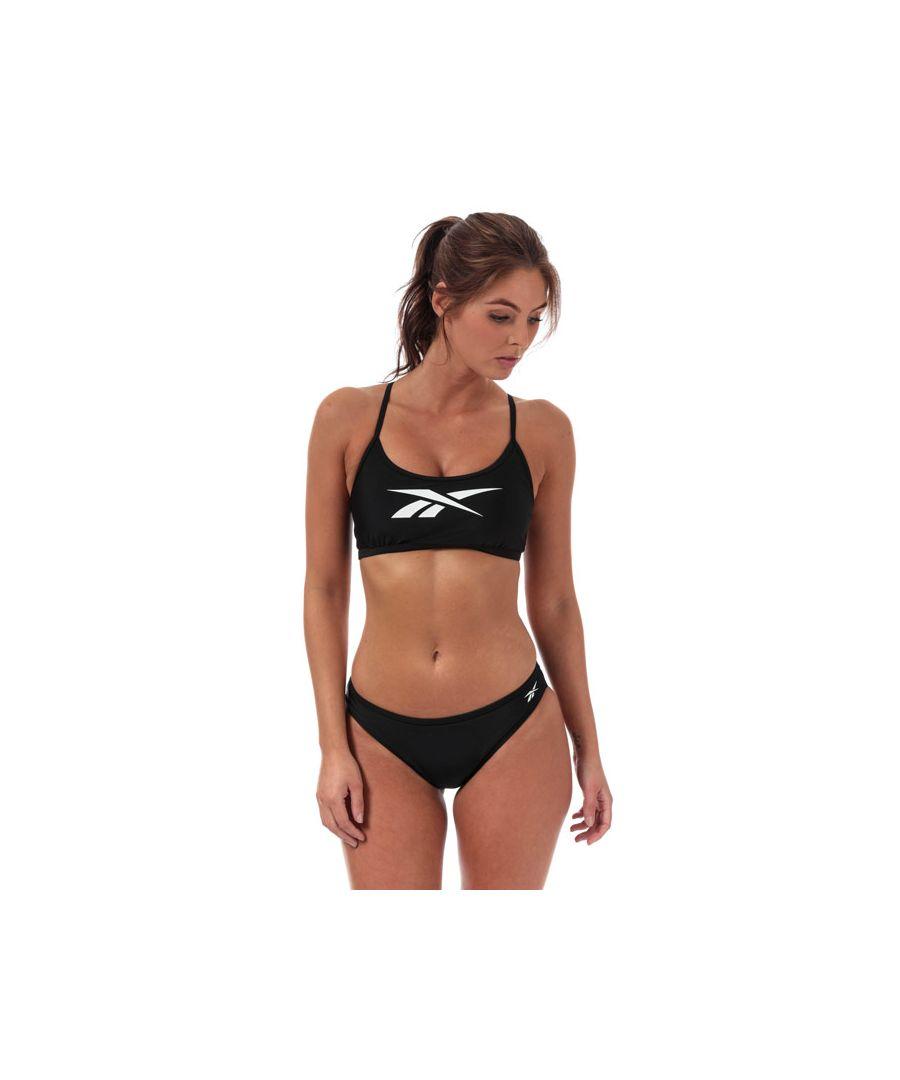 Image for Women's Reebok Alanna Bikini in Black-White