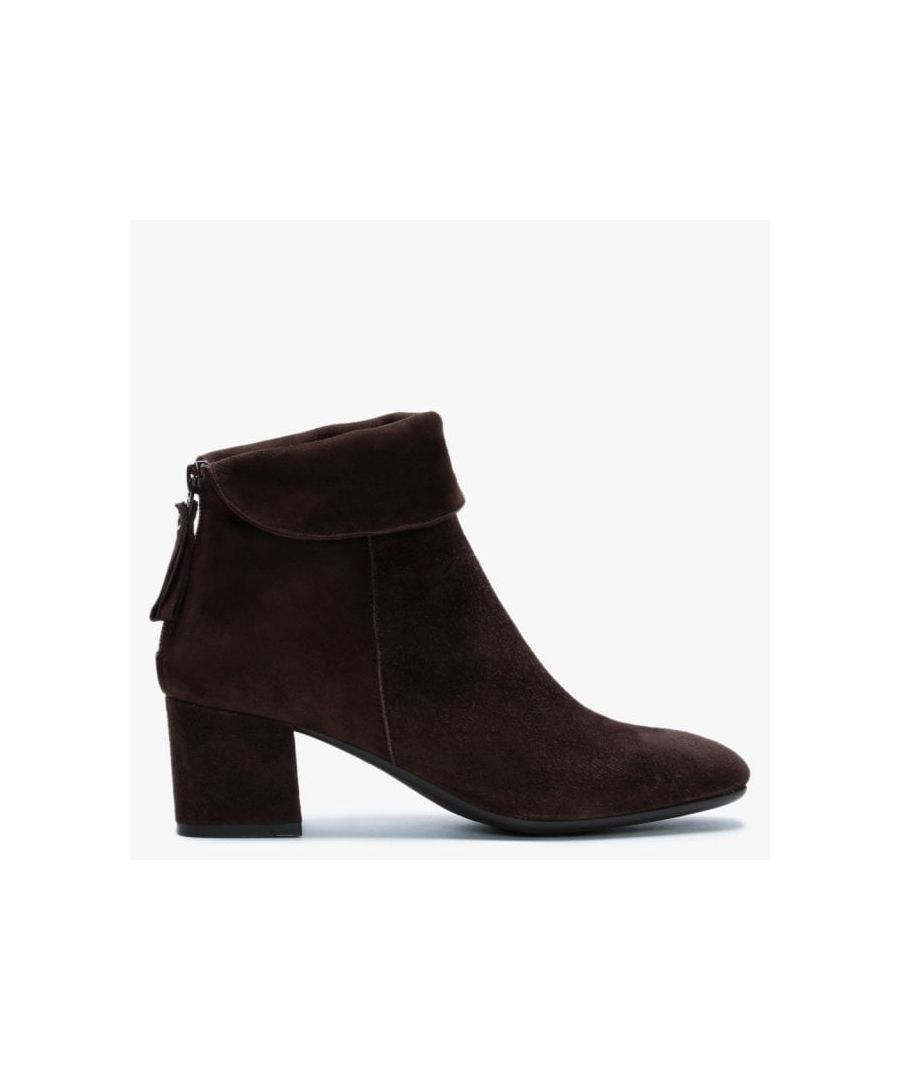 Image for Lamica Suede Block Heel Ankle Boots
