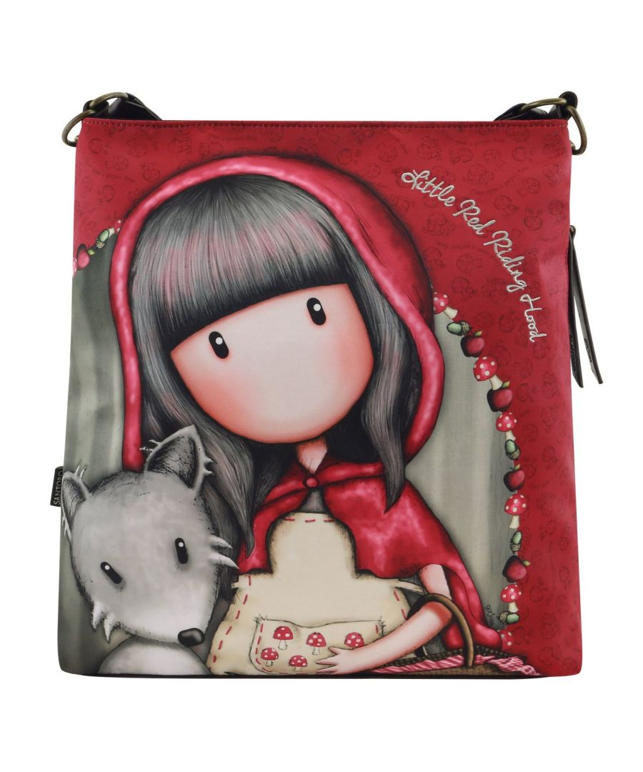 Image for Large Hobo Bag - Little Red Riding Hood