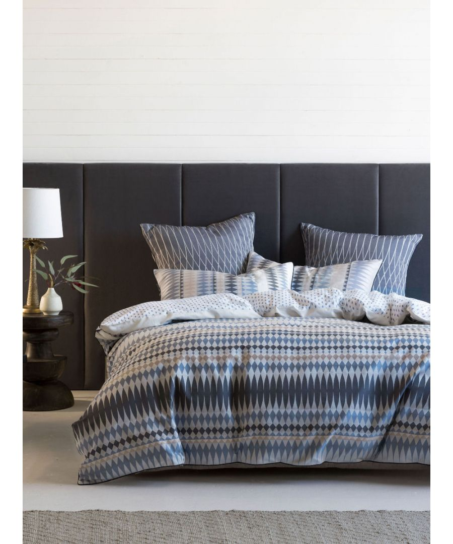Image for Lh Northbrook SKing Duvet Set Indigo