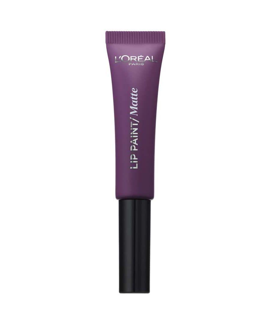 Image for L'Oréal Paris Infallible Matte Lip Paint - 207 Wuthering Purple