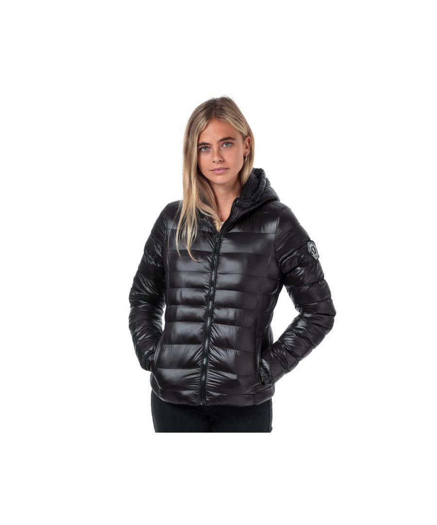 Image for Women's Brave Soul Everett Hooded Jacket in Black