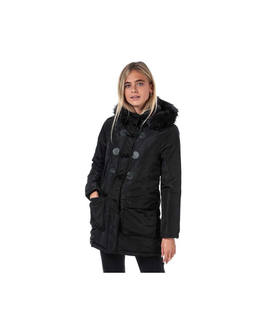 Image for Women's Brave Soul Hero Parka Jacket in Black