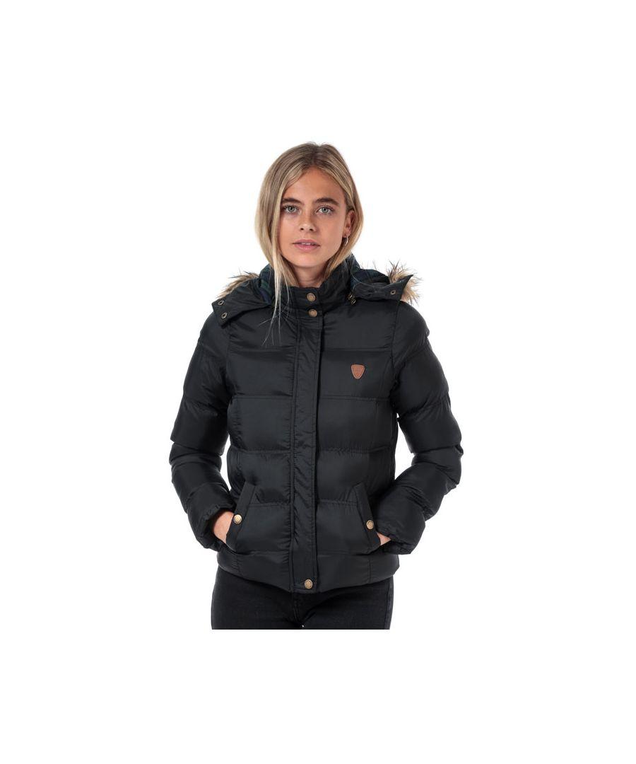 Image for Women's Brave Soul Hopp Padded Jacket in Black