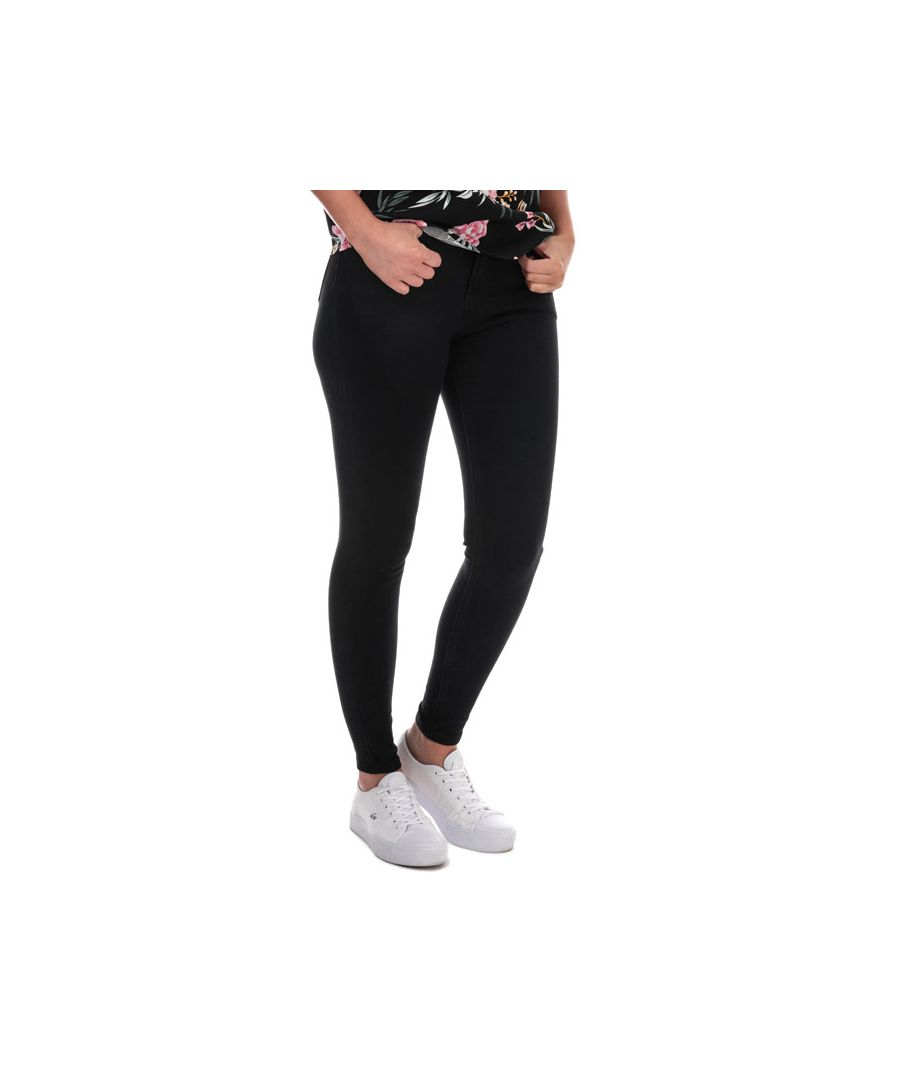 Image for Women's Brave Soul Skinny Jeans in Black