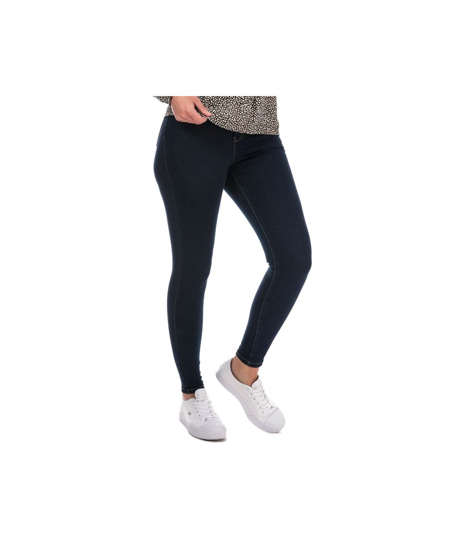 Image for Women's Brave Soul Skinny Jeans in Dark Blue