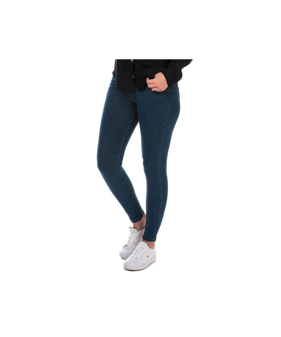 Image for Women's Brave Soul Skinny Jeans in Denim