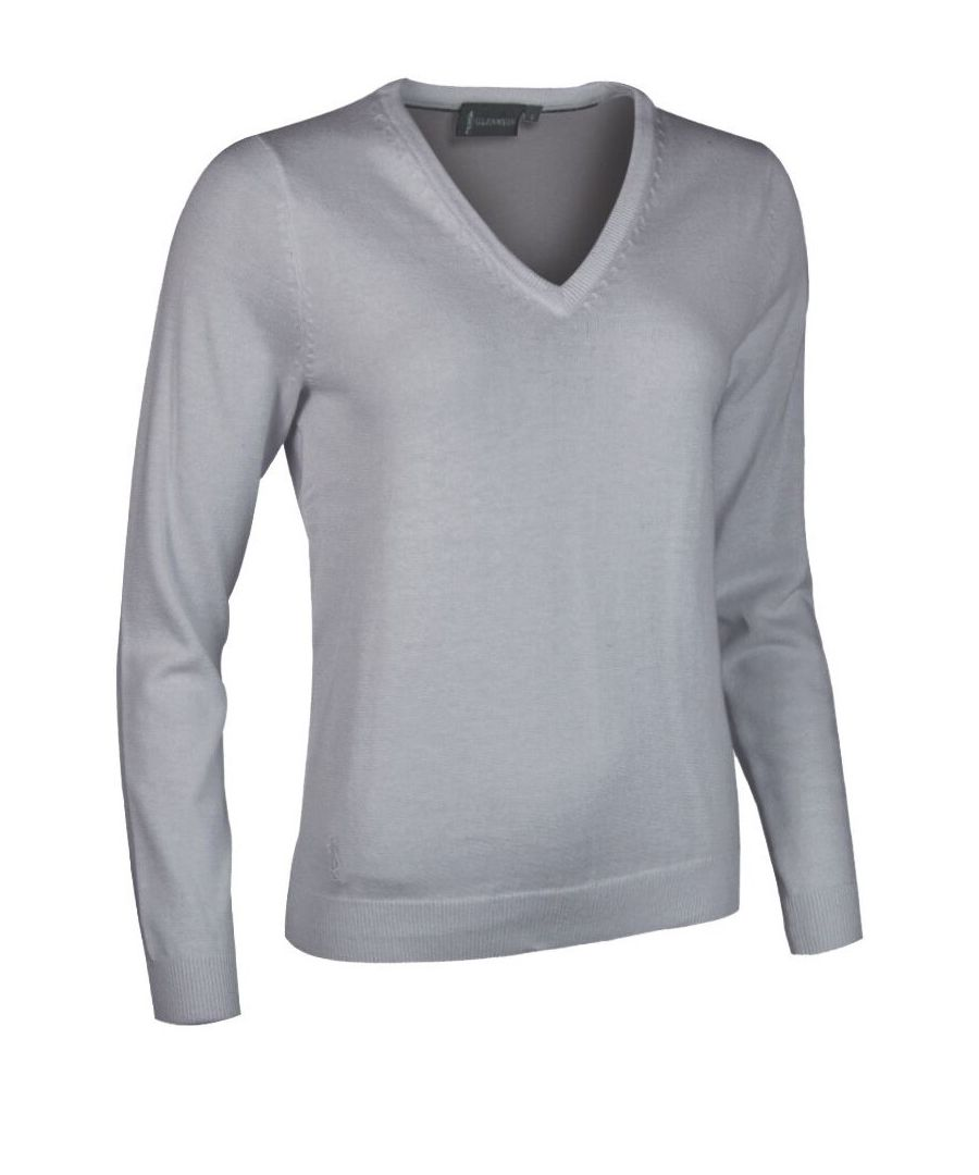 Image for Grey V Neck Jumper