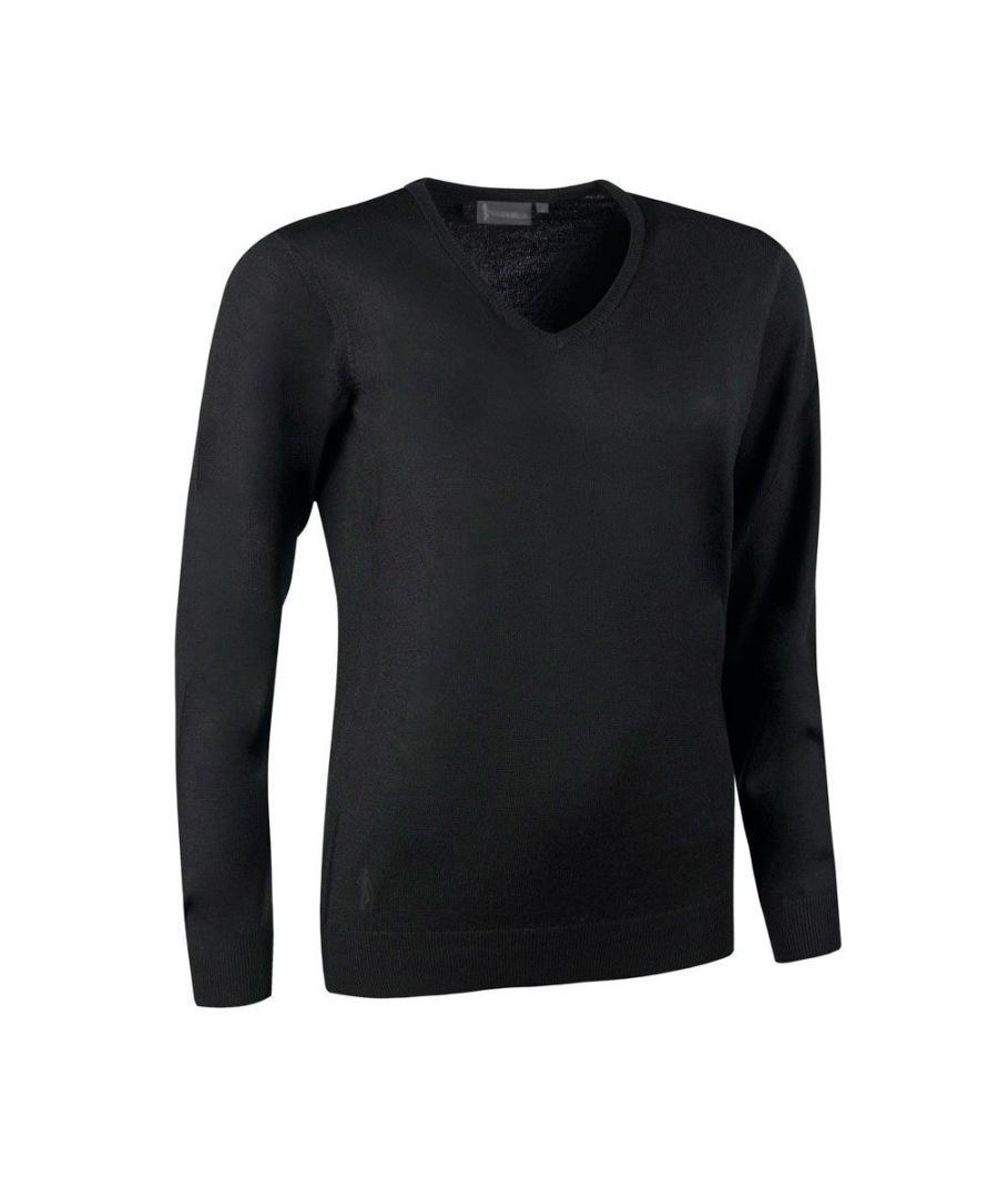 Image for Black V Neck Jumper