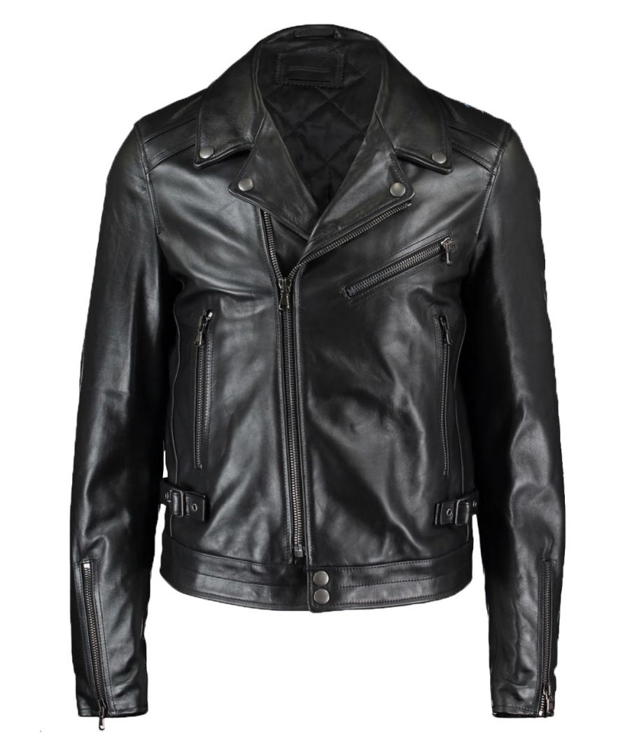 Image for Diesel Black Gold Lorenzo -R 900A  Leather Jacket