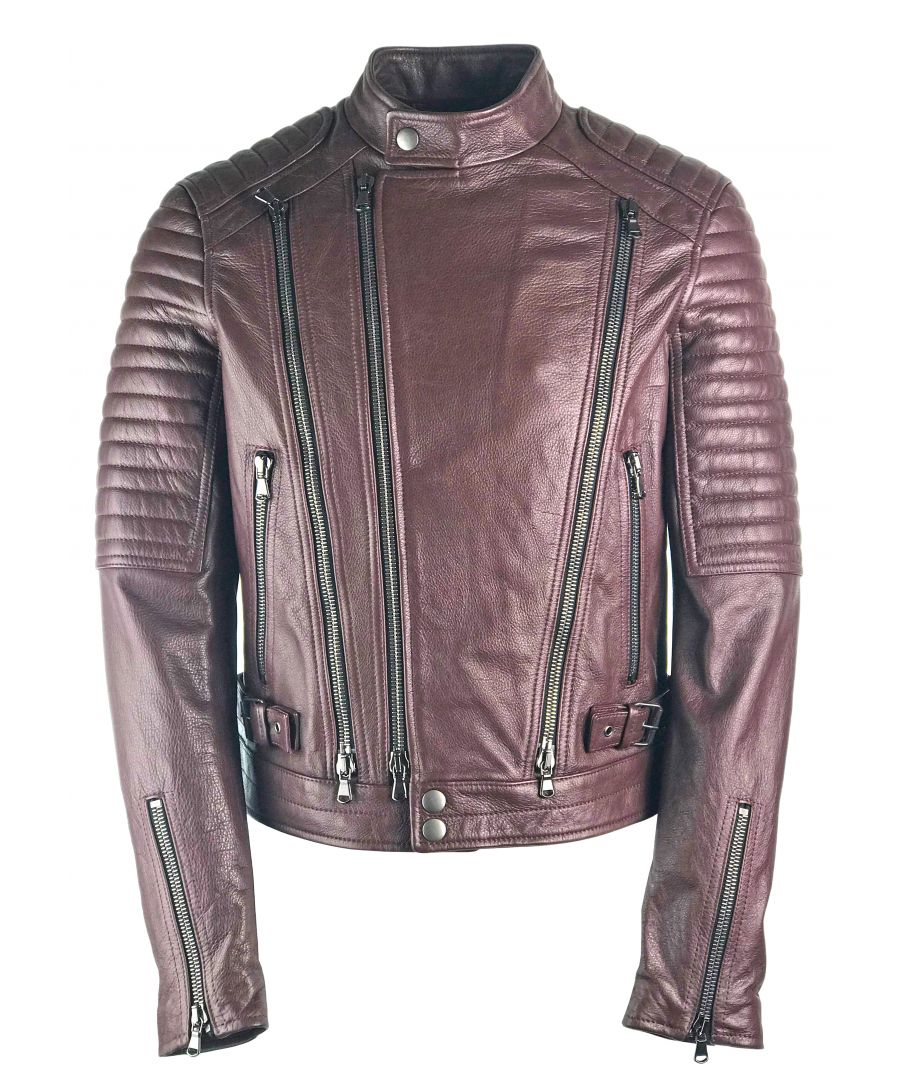 Image for Diesel Black Gold Lory 4ZI Leather Jacket