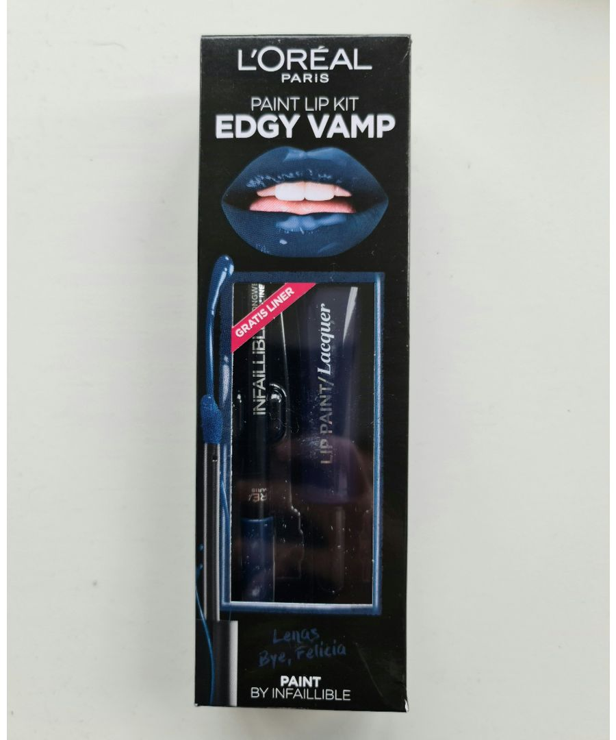 Image for L'Oreal Paris Edgy Vamp Lip Paint Kit - Bye, Felicia