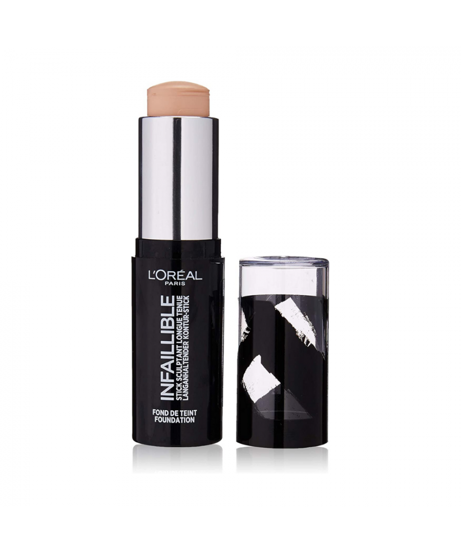 Image for L'Oreal Infaillible Longwear Shaping Stick Foundation 9g - 80 Porcelain