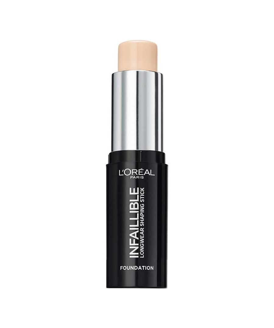 Image for L'Oreal Infaillible Longwear Shaping Stick Foundation 9g - 100 Ivory