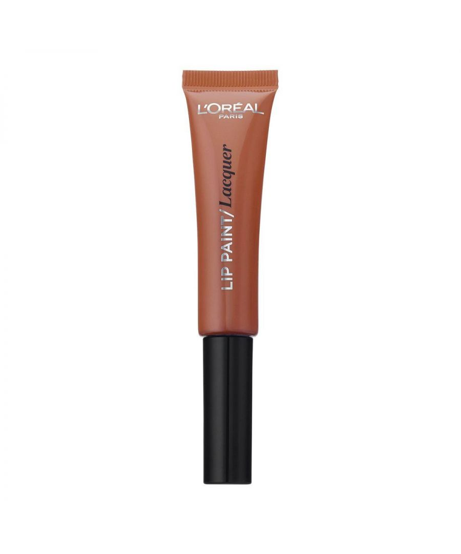 Image for L'Oréal Infallible Lacquer Lip Paint - 101 Gone With The Nude