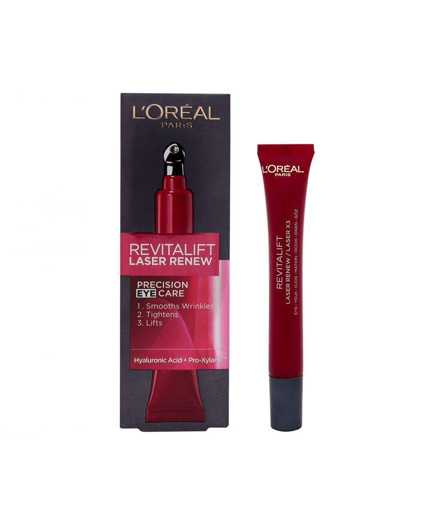 Image for L'Oreal Paris Revitalift Laser Anti Ageing Eye Cream 15ml