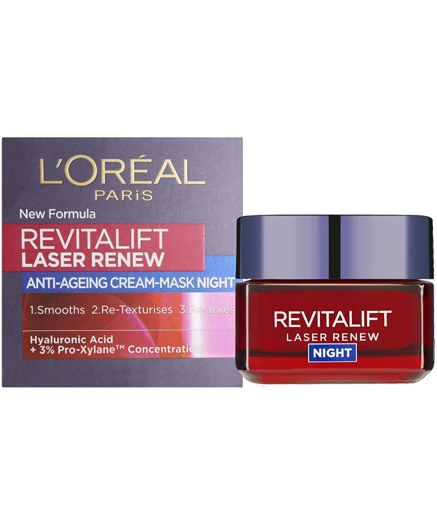 Image for L'Oreal Paris Revitalift Laser Renew Night Cream Mask 50ml