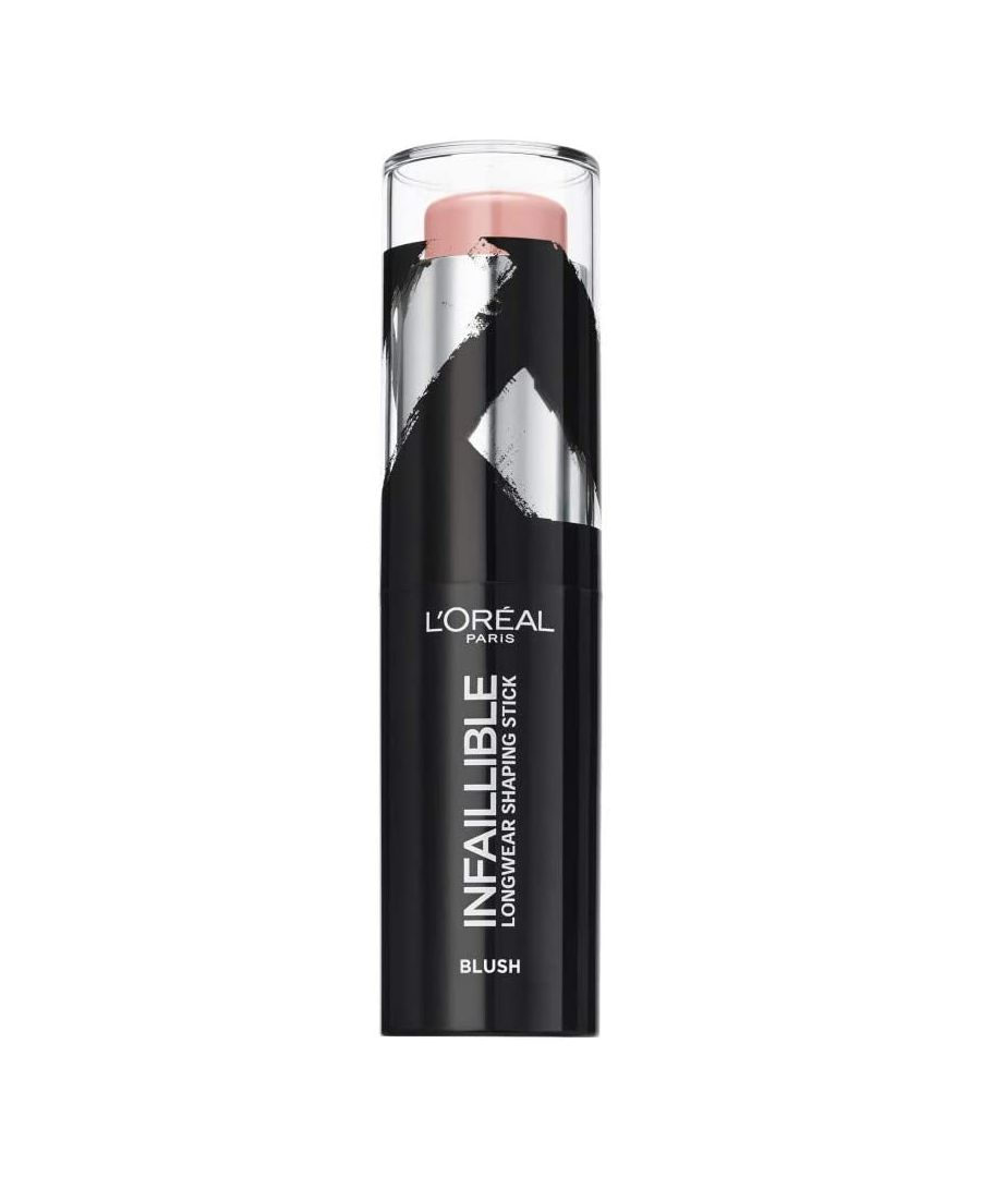 Image for L'Oreal Paris Infaillible Longwear Shaping Stick Blush 9g - 001 Sexy Flush