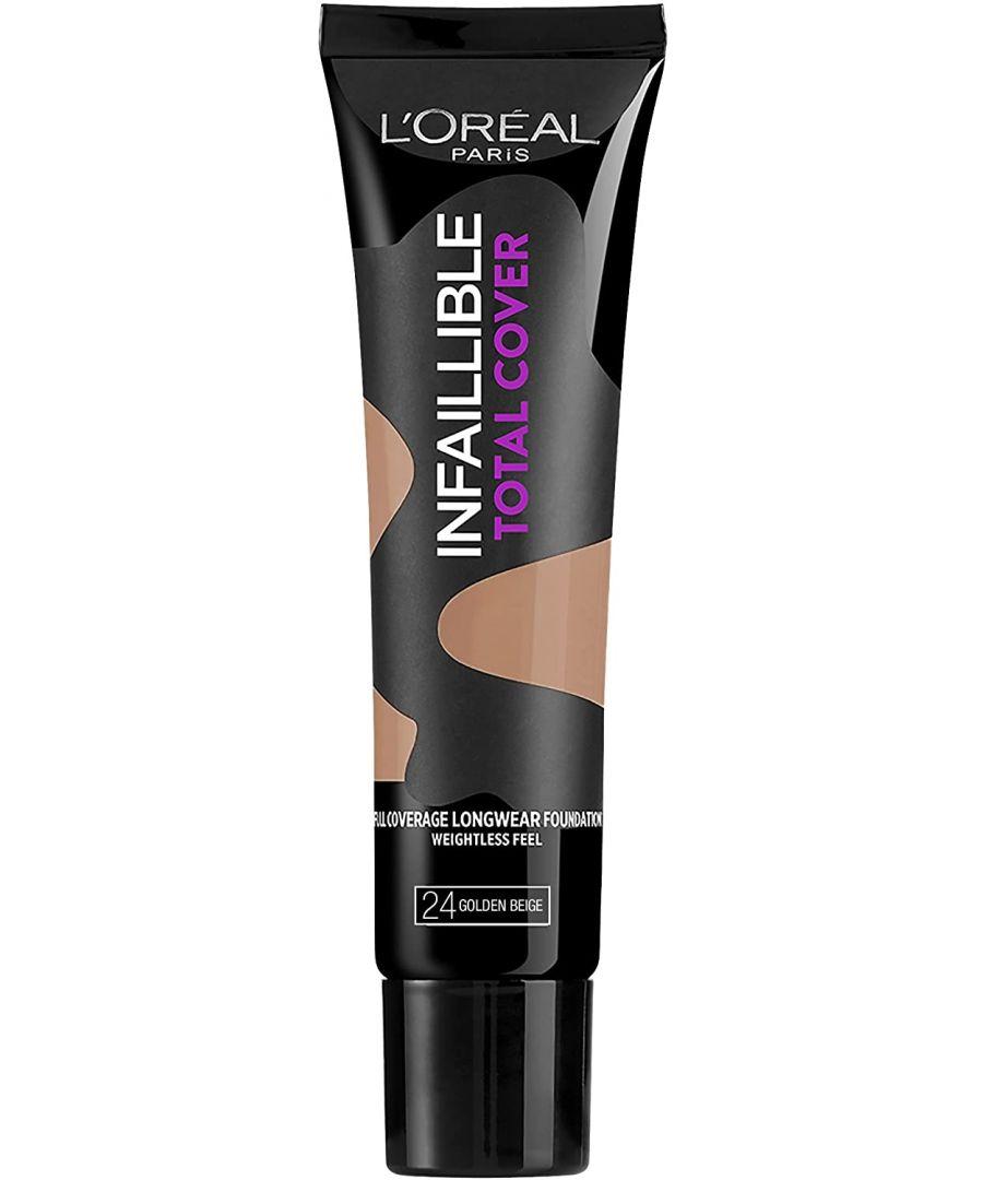 Image for L'Oréal Paris Infallible Total Cover Foundation 35g - 24 Golden Beige