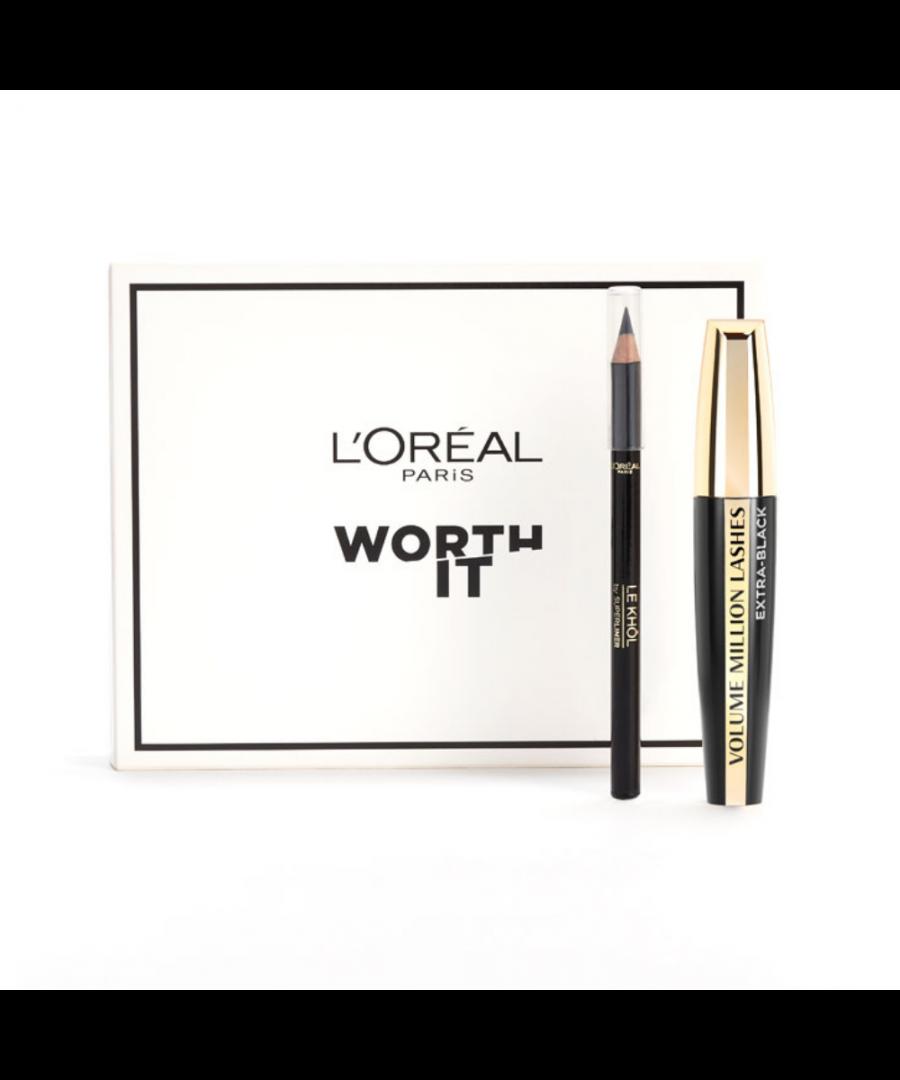 Image for L'Oreal Paris Worth It - Eyeliner & Mascara Set