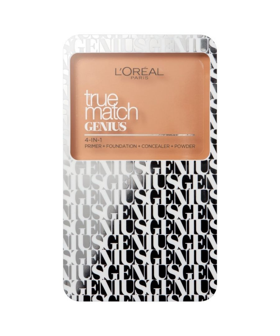 Image for L'Oreal True Match Genius 4 in 1 Compact Foundation 7g Sealed 1.5N Linen