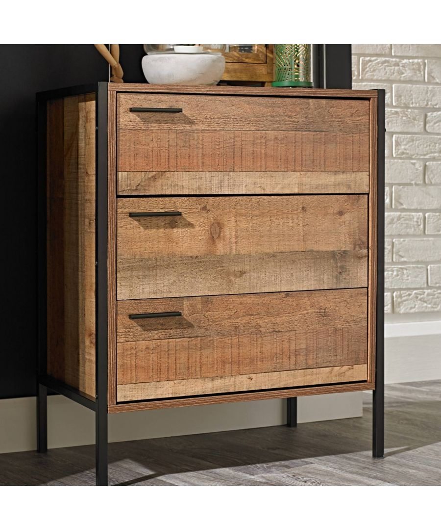 Image for Hoxton 3 Drawer Chest
