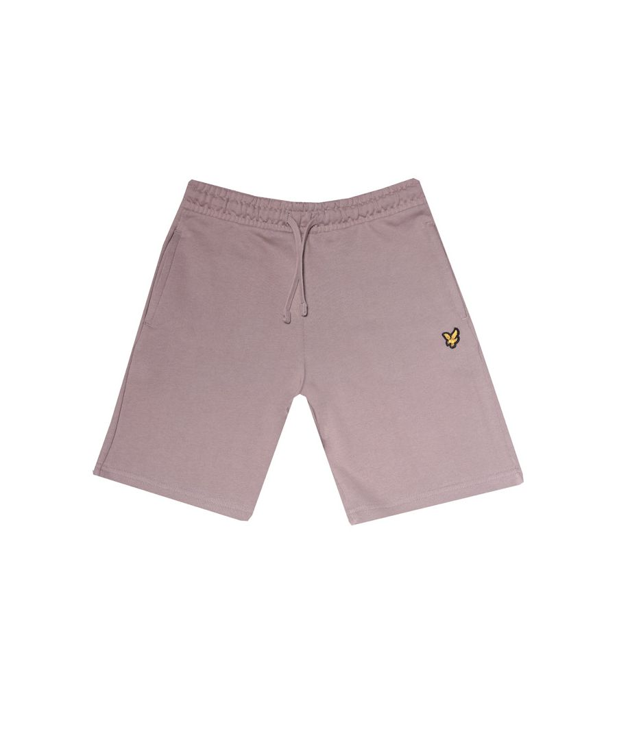 Image for Boy's Lyle And Scott Junior Classic Sweat Shorts in Grey